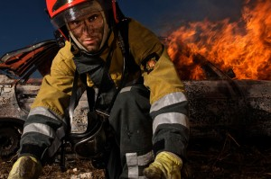 firefighter by John Hicks