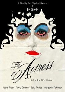 The-Actress-Poster by Ben Charles Edwards