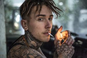 tattoo portrait John Del Pinto ©johnhicks.co.uk